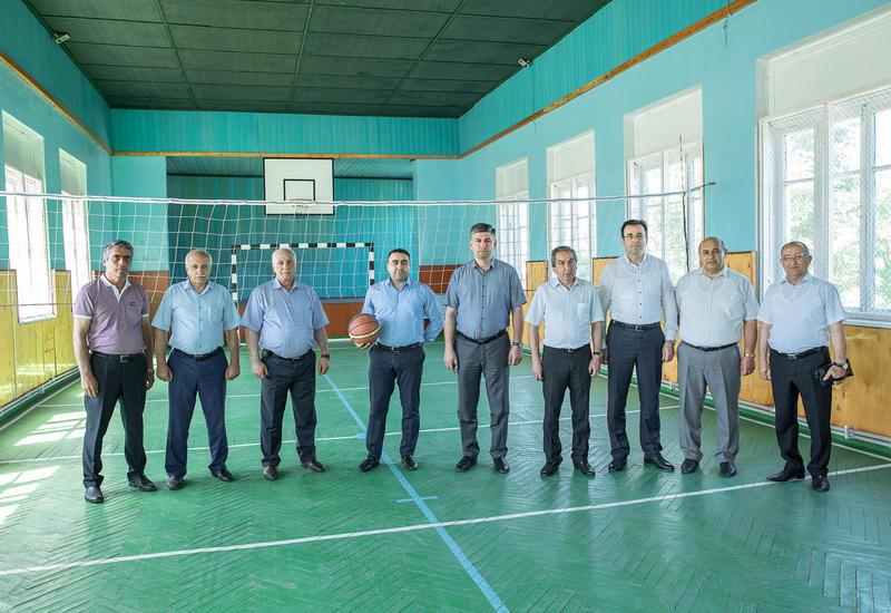 """В Бакинском вагонном депо открылся новый спортзал <span class=""""color_red"""">- ФОТО</span>"""