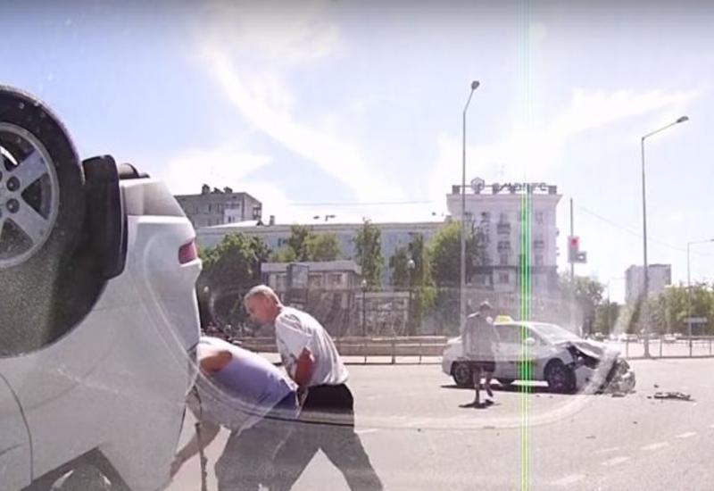 """Ужасное ДТП в России попало на камеры видеорегистратора <span class=""""color_red"""">- ВИДЕО</span>"""