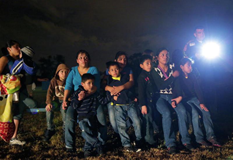 В США запретили правозащитникам посещать детей мигрантов из Мексики