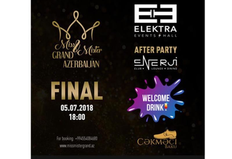 В Баку пройдет финал Miss & Mister Grand Azerbaijan 2018