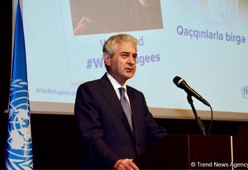 Али Ахмедов: Потрясшая в свое время Азербайджан проблема беженцев теперь стала проблемой, сотрясающей весь мир
