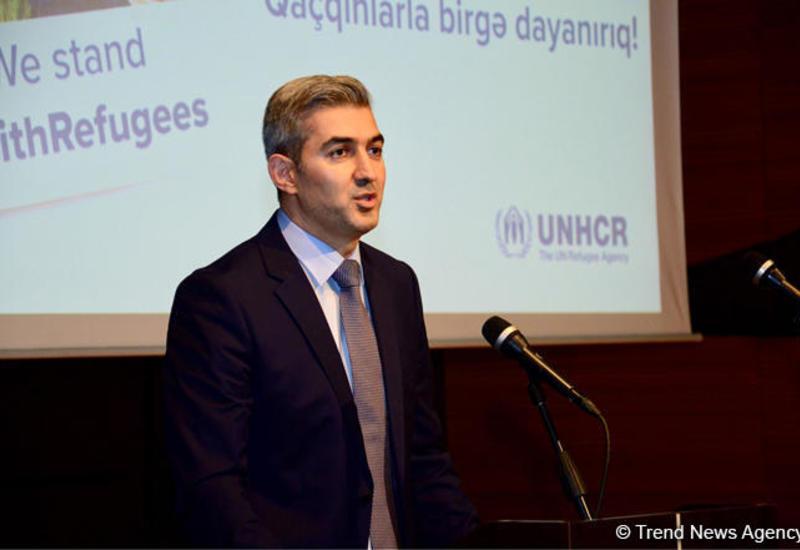 Азербайджан оказывает помощь прибывающим в страну беженцам из других стран