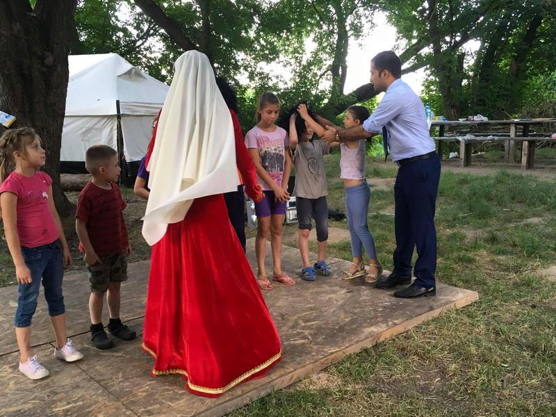 В Киеве организовали праздник для детей по случаю праздника Рамазан