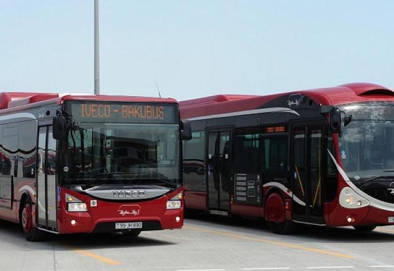 """В Баку изменится маршрут ряда автобусов <span class=""""color_red"""">- СПИСОК</span>"""