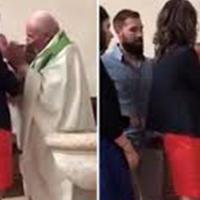 "Священник ударил ребенка за то, что тот плакал <span class=""color_red"">- ВИДЕО</span>"
