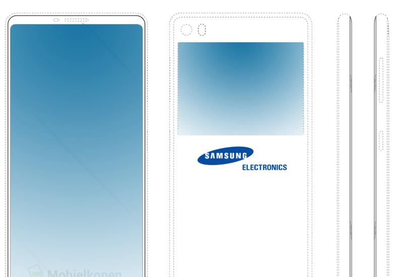Samsung готовит смартфон с двумя экранами