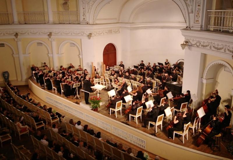 В Филармонии состоялся великолепный концерт симфонического оркестра