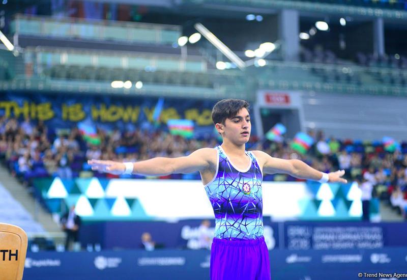 Азербайджанский гимнаст выступит на юношеской Олимпиаде в Буэнос-Айресе