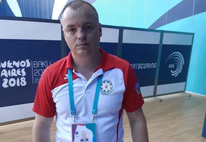 Тренер юношеской сборной Азербайджана: Гимнасты выполнили свою задачу