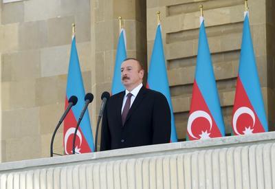 Президент Ильхам Алиев: Нахчыванская операция была осуществлена с высоким мастерством и профессионализмом
