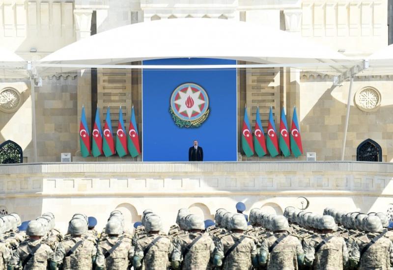 Демонстрация силы азербайджанской армии прошла успешно