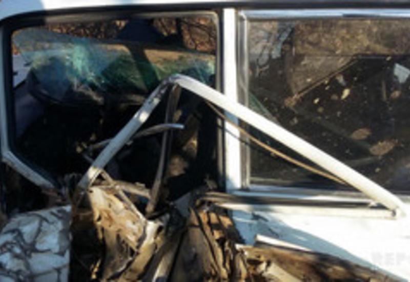 Тяжелое ДТП в Шамахе, есть пострадавшие