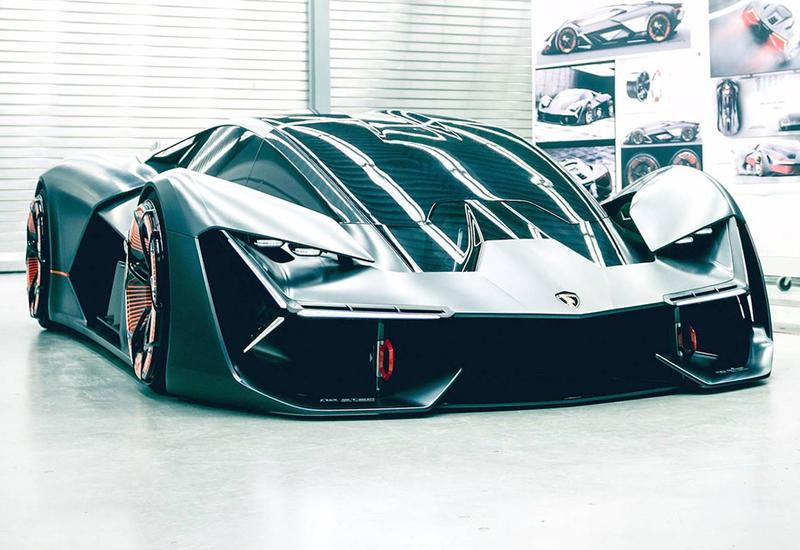 Lamborghini показала первый супергибрид