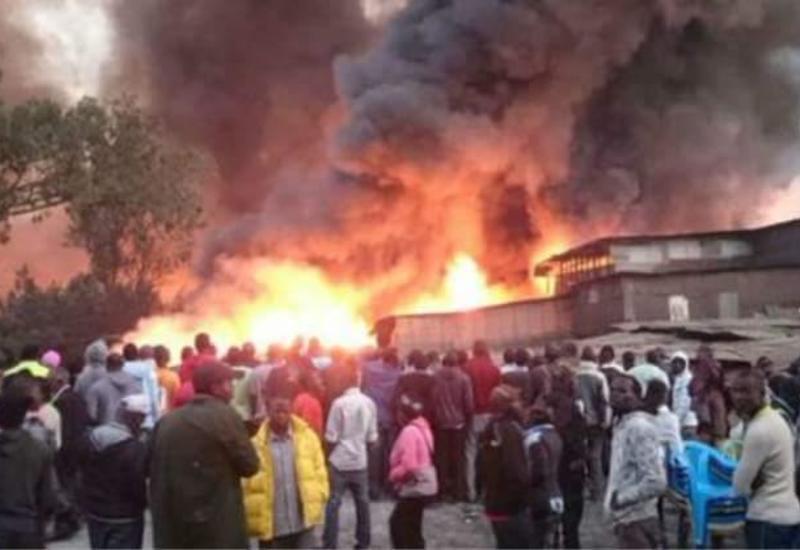 Сильный пожар в Кении: 15 человек погибли, десятки пострадавших