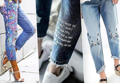 """4 способа освежить надоевшие джинсы <span class=""""color_red""""> - ФОТО</span>"""