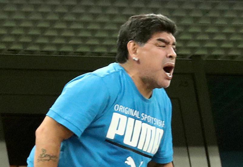 Марадона прокомментировал выступление сборной Аргентины на ЧМ-2018
