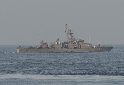 В Персидский залив прибыл корабль США с химикатами