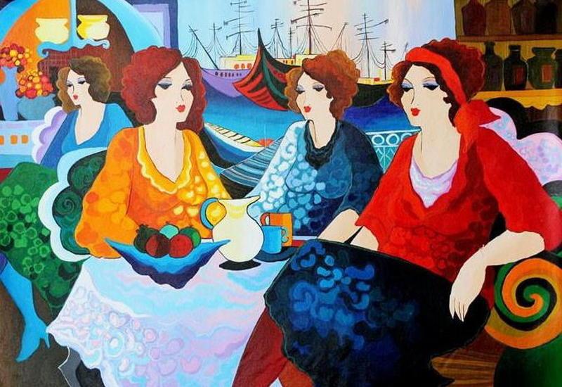 """""""Картинная галерея"""" Day.Az: Изысканные женщины"""
