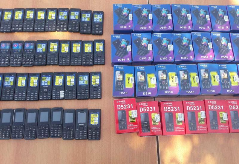 Пресечена контрабанда крупной партии мобильников в Азербайджан