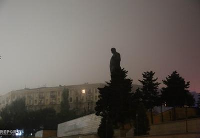 "Названы причины плотного тумана в Баку <span class=""color_red"">- ФОТО</span>"