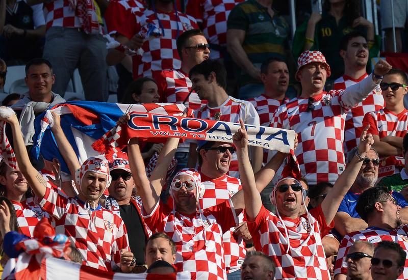 Болельщики из Хорватии массово прибывают в Сочи