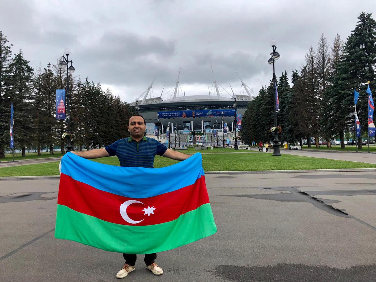 Азербайджанский комментатор и болельщики ТОП-4 стран на ЧМ 2018