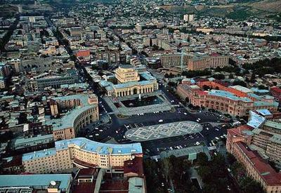Центр Еревана остался без света