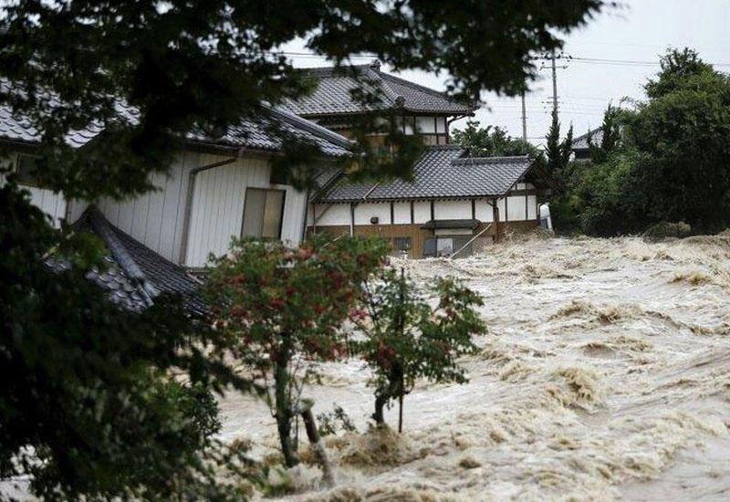 МИД: Среди погибших во время наводнения в Японии нет граждан Азербайджана