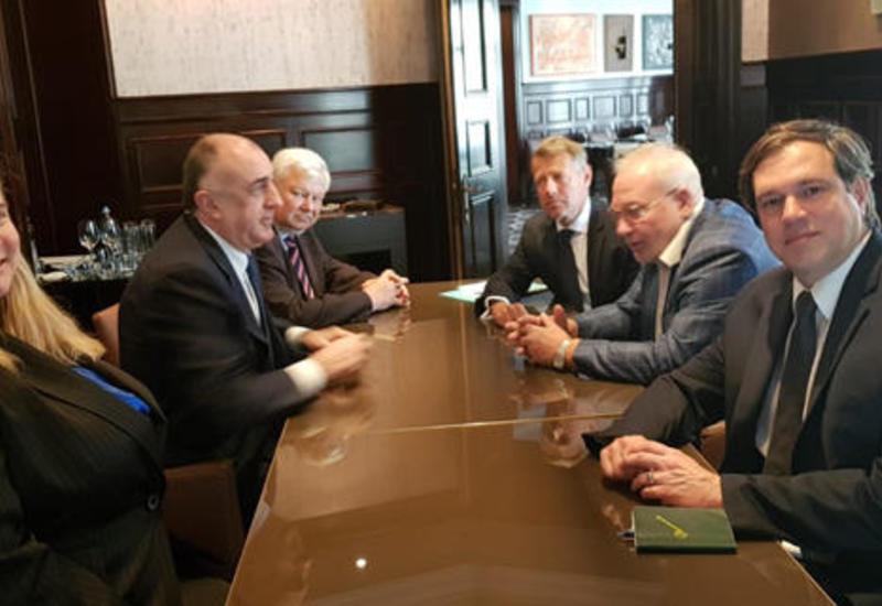 Эльмар Мамедъяров встретился с сопредседателями МГ ОБСЕ