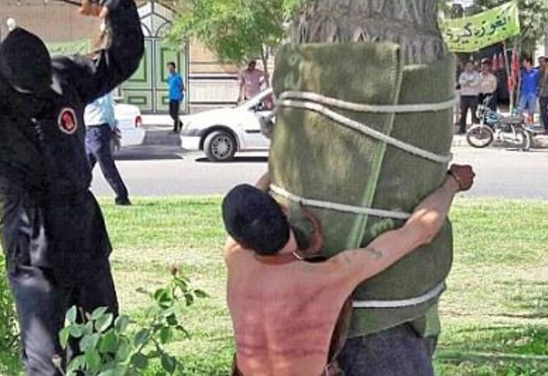 Toyda içdiyinə görə ağaca bağlayıb şallaqladılar