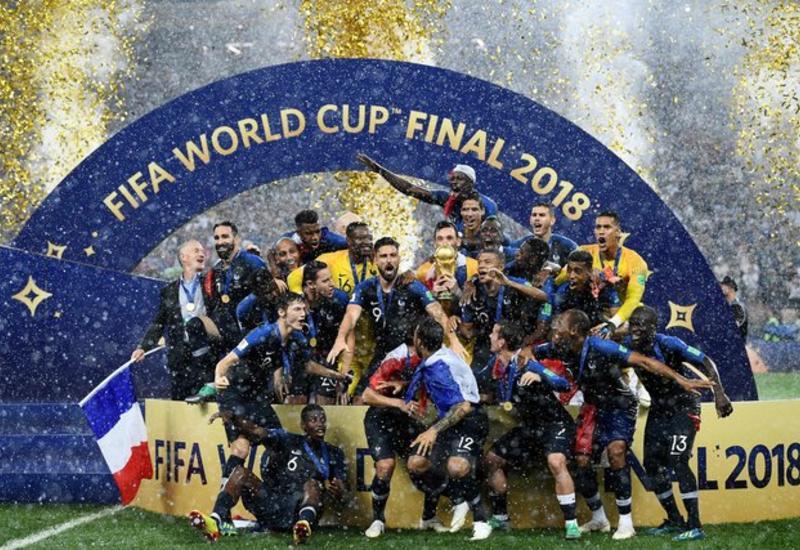"""Церемония награждения чемпионов мира сборной Франции <span class=""""color_red"""">- ФОТО</span>"""