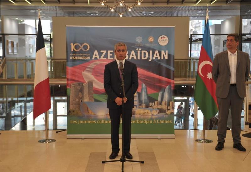 """При организации Фонда Гейдара Алиева в Каннах начались Дни азербайджанской культуры <span class=""""color_red"""">- ФОТО</span>"""
