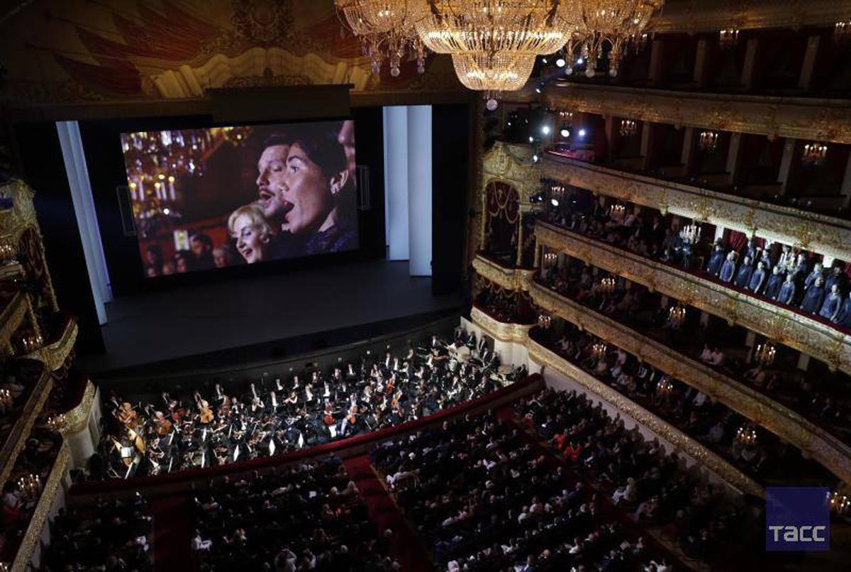 Народный артист Азербайджана выступил на гала-концерте в честь закрытия ЧМ 2018