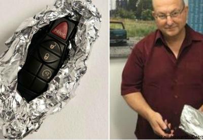 """Агент ФБР рассказал, почему заворачивает в фольгу ключи от машины <span class=""""color_red"""">- ФОТО</span>"""