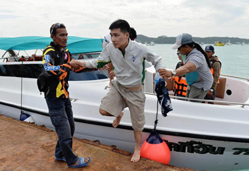 Владелица потерпевшего крушение в Таиланде судна сдалась полиции