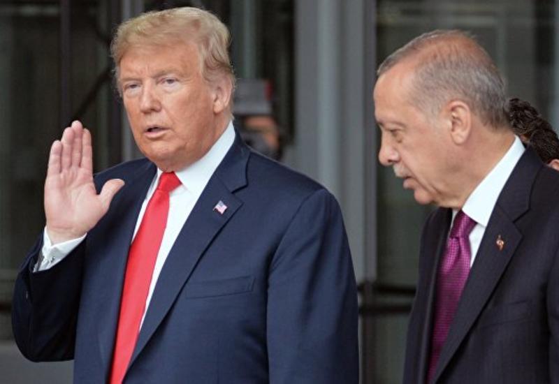 Эрдоган и Трамп обсудили по телефону Сирию и Россию