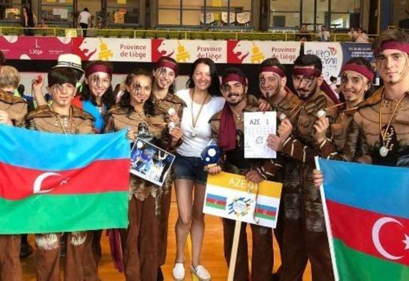 Азербайджанские гимнасты завоевали «золото» на фестивале European Gym for Life Challenge