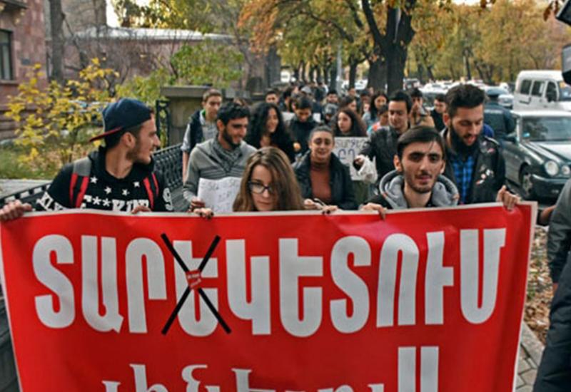 Министерство образования Армении обмануло студентов-призывников