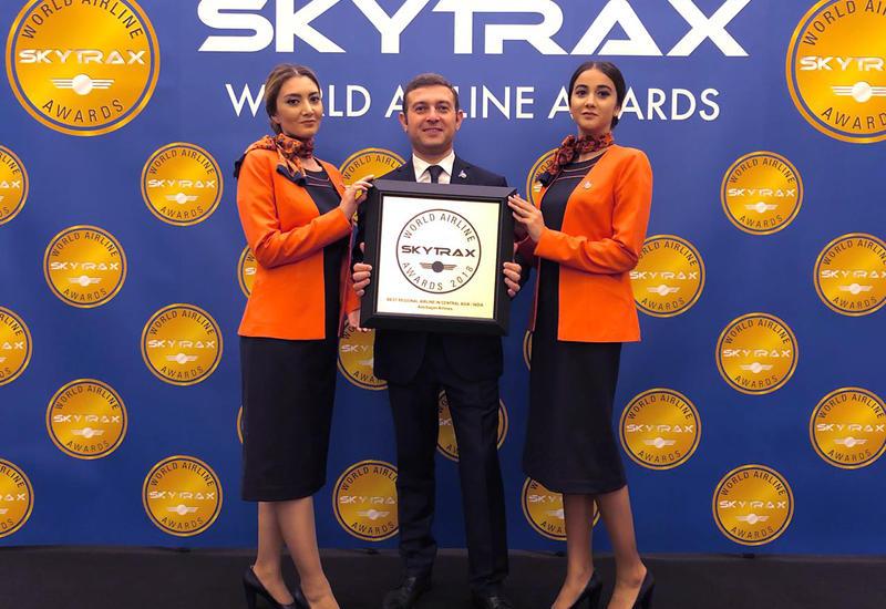 «Азербайджанские Авиалинии» в очередной раз удостоены престижной награды Skytrax