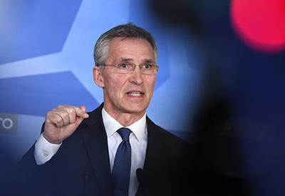 Столтенберг: Россия не вправе решать вопрос о вступлении Грузии в НАТО