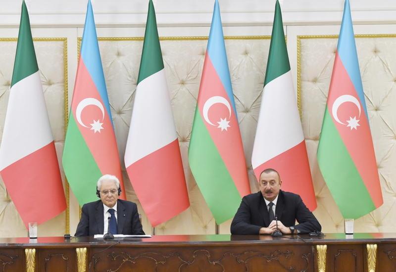 Президент Ильхам Алиев: Азербайджан для Италии, Италия для Азербайджана - очень надежные партнеры