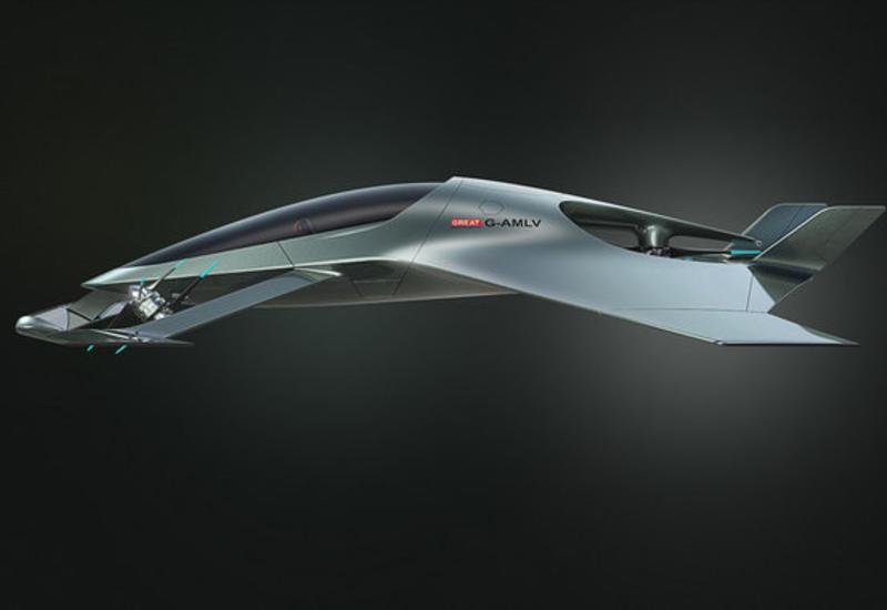 """Aston Martin разработал самоуправляемый люксовый самолет <span class=""""color_red"""">- ФОТО - ВИДЕО</span>"""