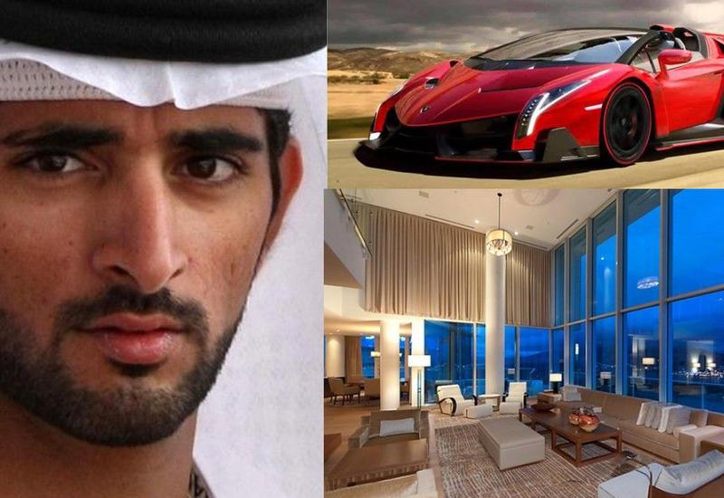 Самые дорогие и роскошные вещи, которыми владеет принц Дубая