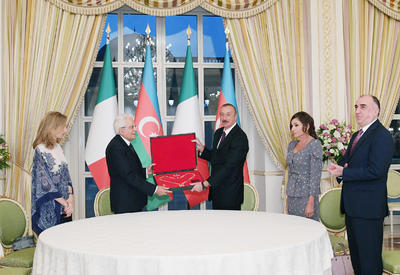 "В рамках визита Президента Италии в Азербайджан состоялась церемония награждения <span class=""color_red"">- ФОТО</span>"