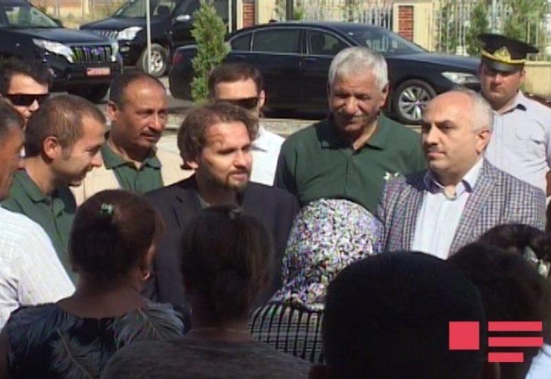 """Иорданский принц посетил Джоджуг Марджанлы <span class=""""color_red"""">- ФОТО</span>"""