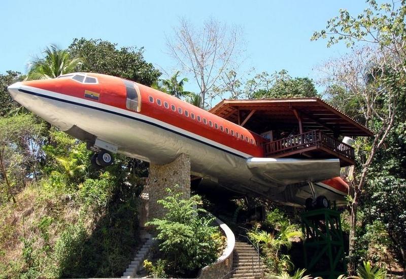 """Boeing в джунглях: в Коста-Рике самолет превратили в отель <span class=""""color_red"""">- ФОТО</span>"""