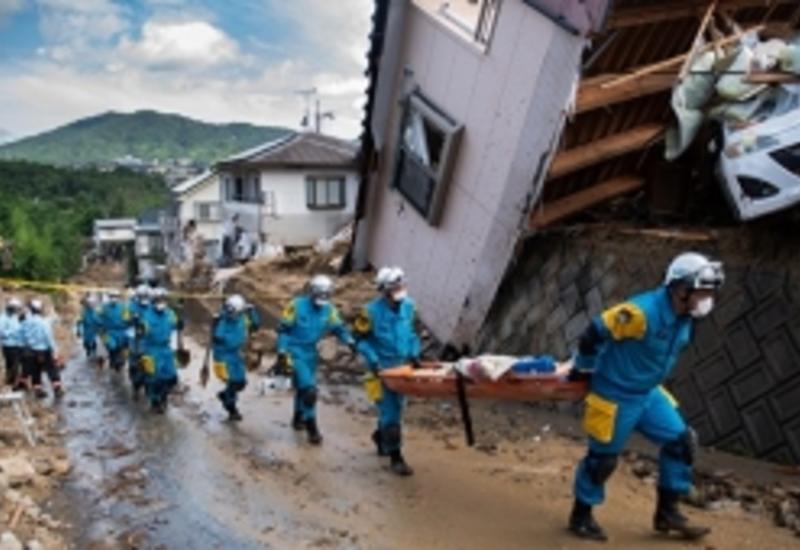 Число жерт наводнений в Японии достигло 225