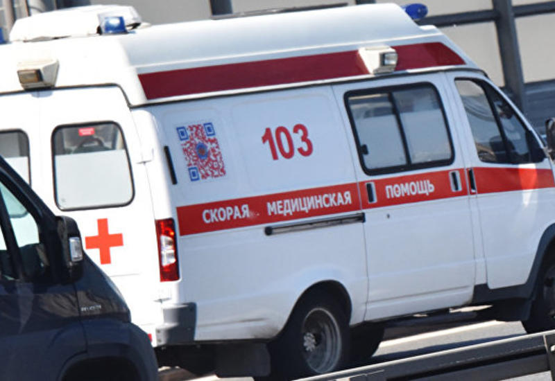 Микроавтобус Москва-Баку попал в ДТП, пострадали 8 граждан Азербайджана