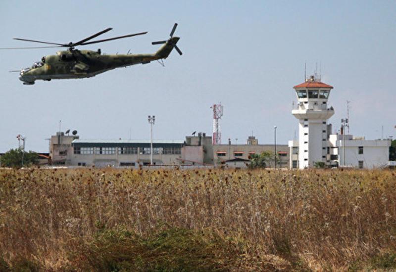В районе авиабазы Хмеймим сбили неопознанный беспилотник