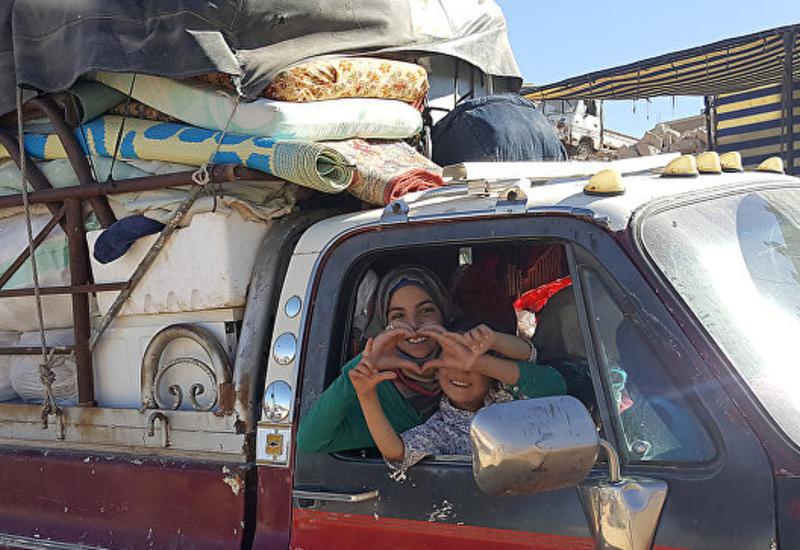 Сотни тысяч беженцев вернулись в Сирию